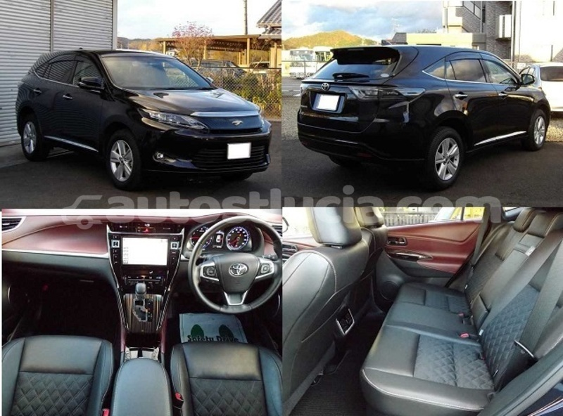 Big with watermark toyota harrier castries castries 2858