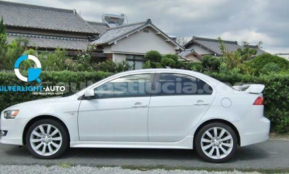 Buy Used Mitsubishi Galant White Car in Castries in Castries