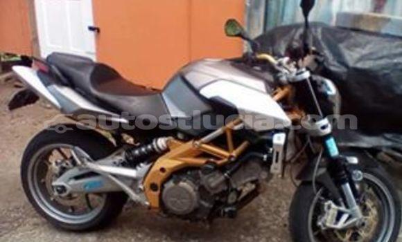 Buy Used Aprilia Shiver Silver Bike in Castries in Castries