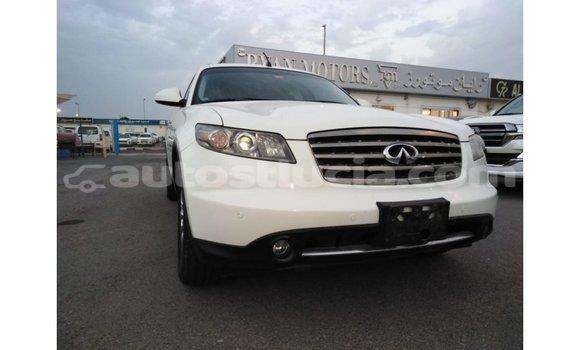 Buy Import Infiniti FX White Car in Import - Dubai in Anse-la-Raye